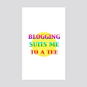 Blogger Rectangle Sticker