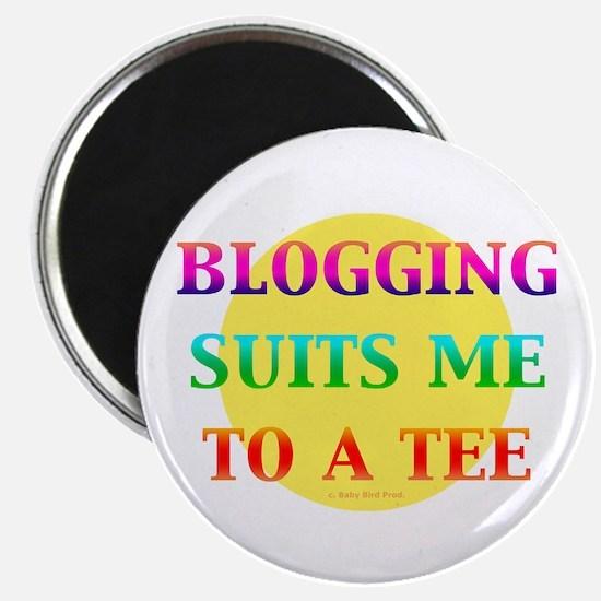 "Blogger 2.25"" Magnet (100 pack)"