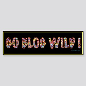 Blogging Bumper Sticker