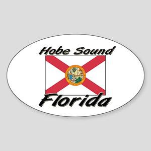 Hobe Sound Florida Oval Sticker
