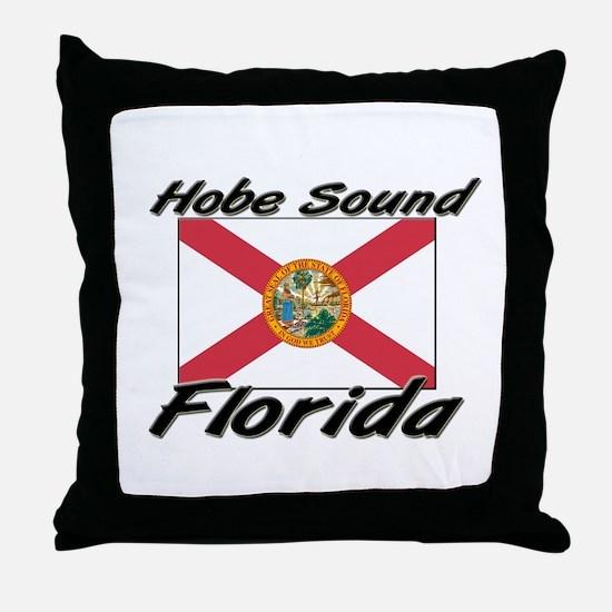 Hobe Sound Florida Throw Pillow