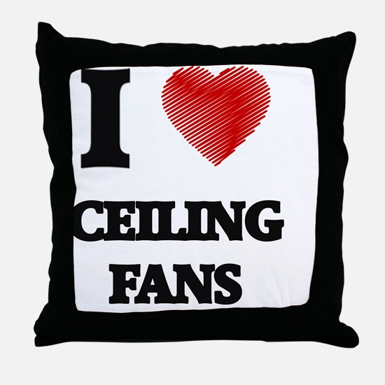 Ceiling Fan Throw Pillow
