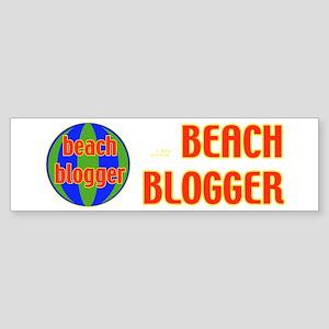 Blogger Bumper Sticker