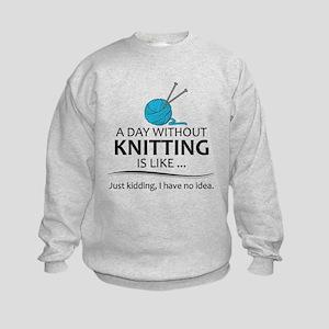 Knitter Gifts - Knitting Lovers Sweatshirt