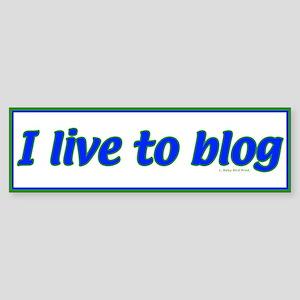 Blog Bumper Sticker