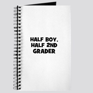 Half Boy, Half 2nd Grader Journal