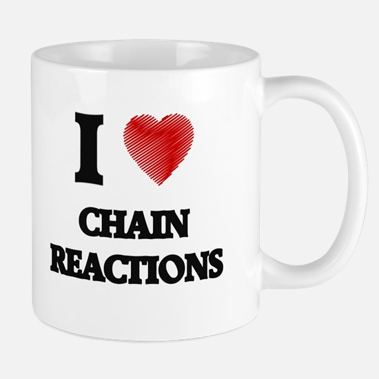 chain reaction Mugs