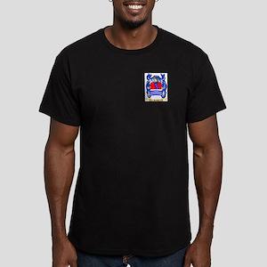 Rivas Men's Fitted T-Shirt (dark)