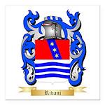 Rivani Square Car Magnet 3