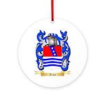 Riva Round Ornament