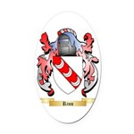 Rinn Oval Car Magnet