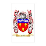 Ritter Sticker (Rectangle 50 pk)