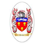 Ritter Sticker (Oval)