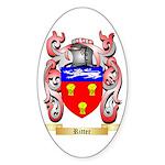 Ritter Sticker (Oval 10 pk)