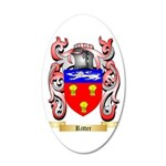 Ritter 35x21 Oval Wall Decal