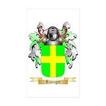 Risinger Sticker (Rectangle 50 pk)