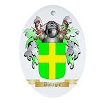 Risinger Oval Ornament