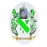 Rishton Oval Ornament