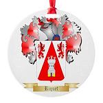 Riquet Round Ornament