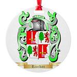 Riordan Round Ornament