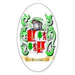 Riordan Sticker (Oval)