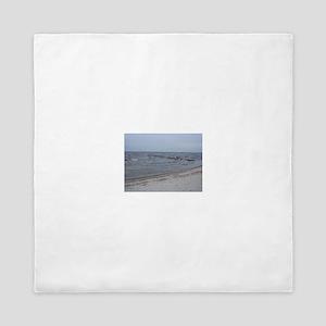 the sea invites you to dream Queen Duvet