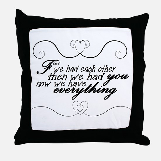 precious children Throw Pillow