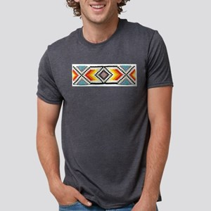 Beaded Tribal Band 2 Ash Grey T-Shirt