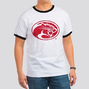 Houston Cougars Distressed T-Shirt
