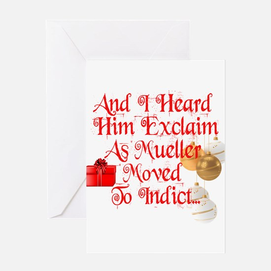 Trump Christmas, Republican, Democr Greeting Cards
