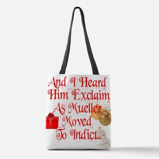Trump Christmas, Republican, De Polyester Tote Bag