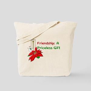 Christmas Friendship Tote Bag