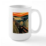 Scream 21st Large Mug