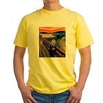 Scream 21st Yellow T-Shirt