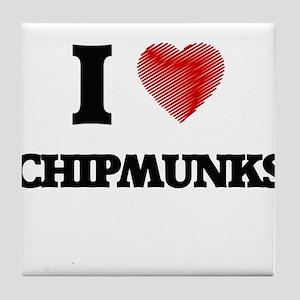 chipmunk Tile Coaster