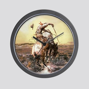 Wild West Vintage -Page1 Wall Clock