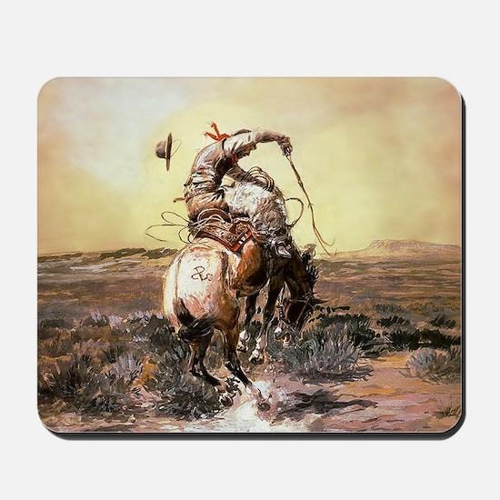 Wild West Vintage -Page1 Mousepad