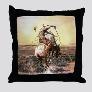 Wild West Vintage -Page1 Throw Pillow