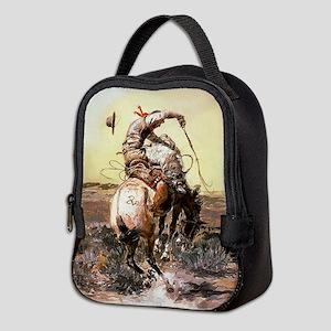 Wild West Vintage -Page1 Neoprene Lunch Bag