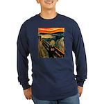 Scream 60th Long Sleeve Dark T-Shirt
