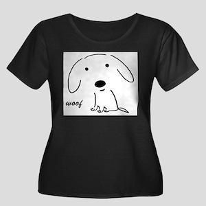 6-wooflinedog Plus Size T-Shirt