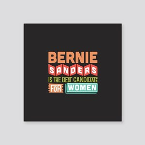 Best Candidate for Women Ornament Sticker
