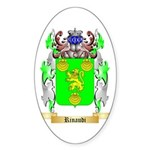 Rinaudi Sticker (Oval 50 pk)