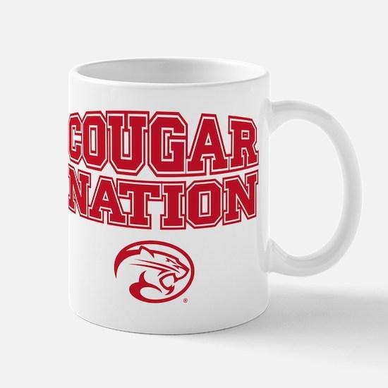 Houston Cougars Cougar Nation Mugs