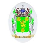 Rinaldin Oval Ornament