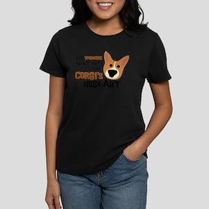 Corgi Nose Ar T-Shirt