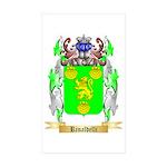 Rinaldelli Sticker (Rectangle 50 pk)