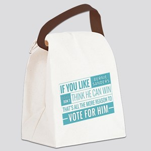 Bernie Can Win Canvas Lunch Bag