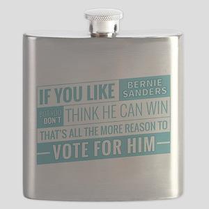 Bernie Can Win Flask