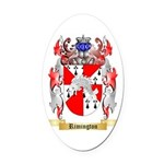 Rimington Oval Car Magnet
